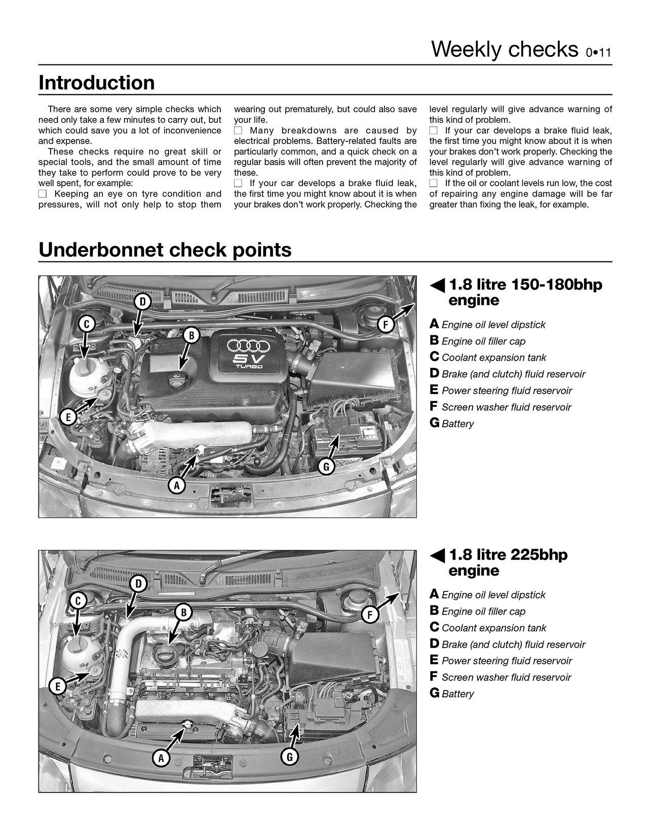 Audi Tt Haynes Manual Repair Manual Workshop Service