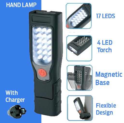 30 Led Rechargeable Inspection Lamp Light Torch Cordless: New Ring Automotive RIL40 17+4 LED Inspection Lamp/Torch