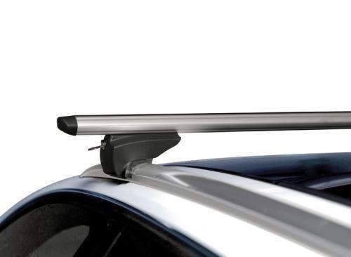 Vauxhall Zafira B 2005/>2012 ALUMINIUM AERO ROOF BARS RACK for CLOSED RAILS
