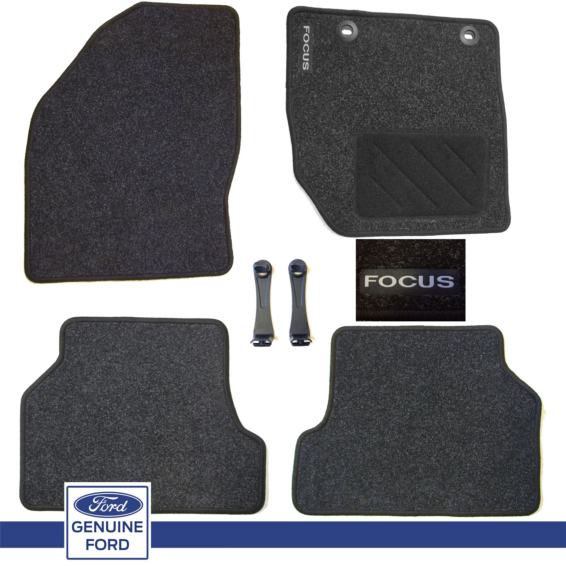 FORD FOCUS ESTATE ALL YEARS NEW UNIVERSAL CAR CARPET FLOOR MATS SET OF 4
