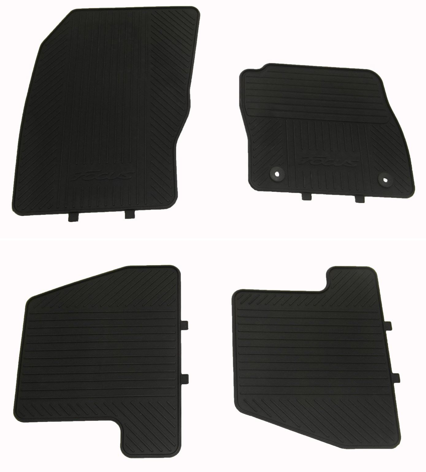 Genuine FORD FOCUS 2011- MK3 Rubber Floor Mats Front