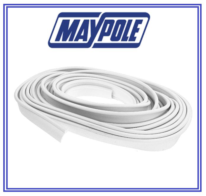 Maypole MP951 Awning Rail Protector-White-12m White