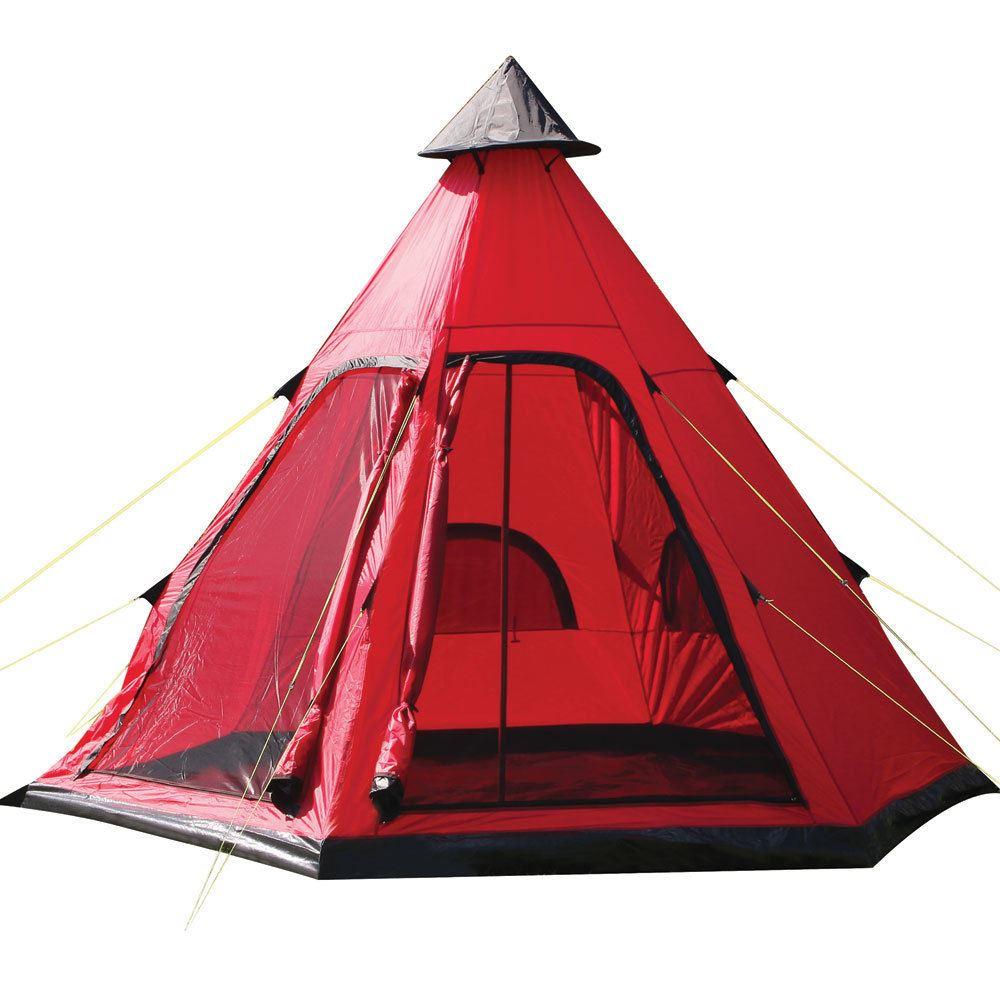 Yellowstone-Tenda-Da-Indiani-Tipi-Style-4-Uomo-cuccetta-persona-Tenda-Campeggio-Festival-Wigwam