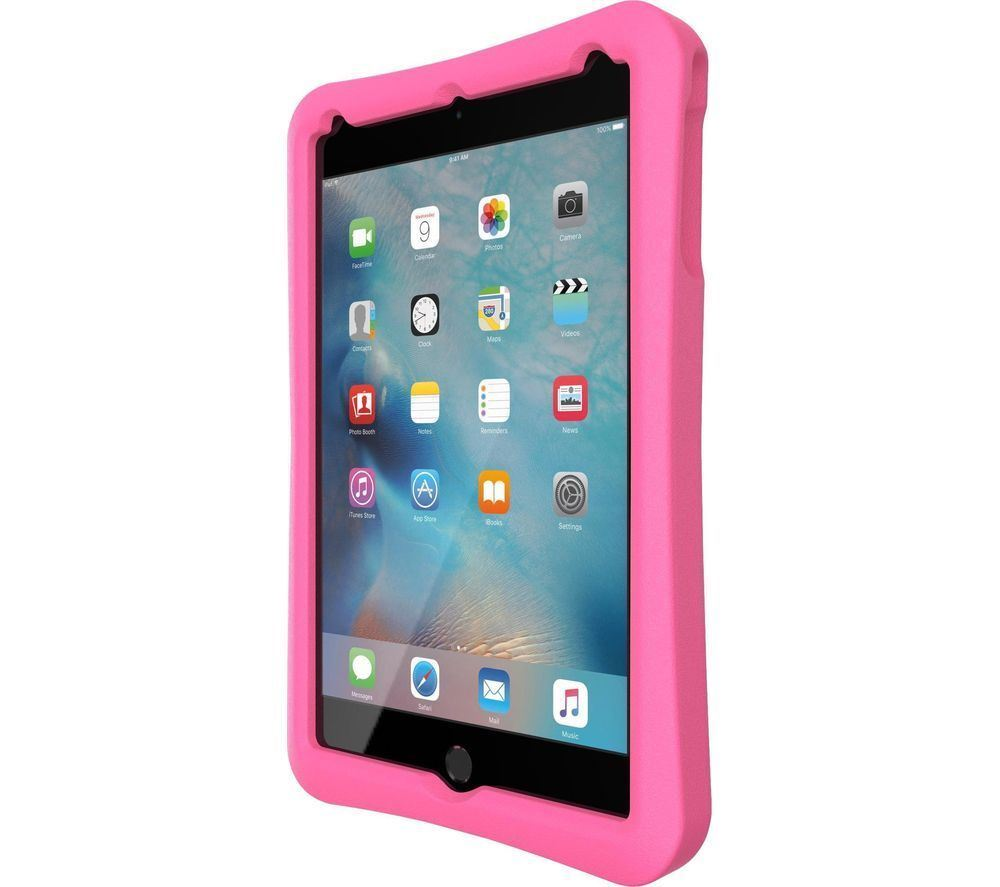 buy popular 4cbc8 ec8d3 Details about TECH21 Evo Protective Play Cover Case in Pink/Lilac for Apple  iPad Mini 1 2 3 4