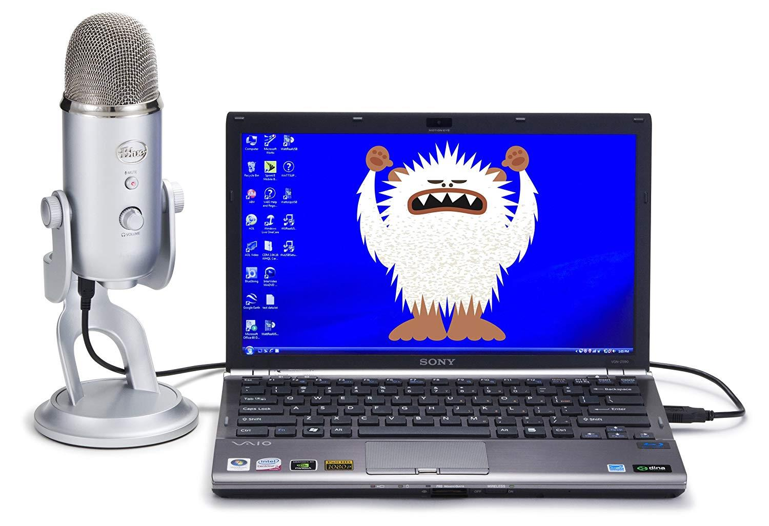 Blue-Microphones-Yeti-USB-Microphone-Multiple-Colours-To-Choose-From thumbnail 13