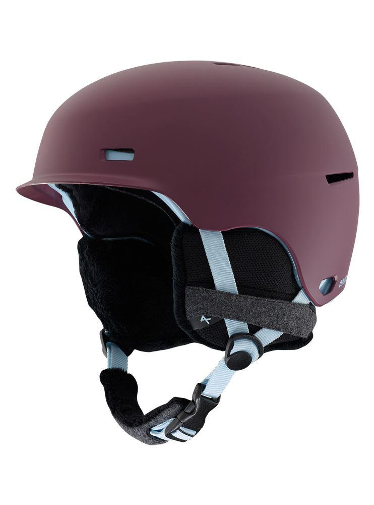 Anon Raven 2019 Womens  Ski & Snowboard Helmet Purple  official website