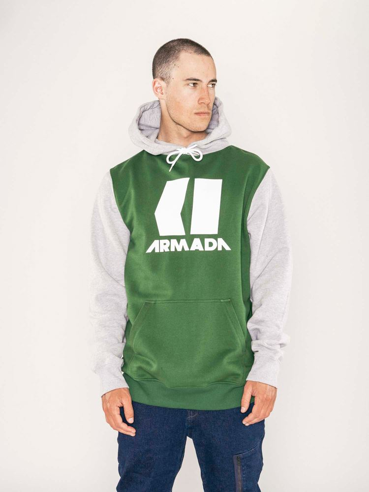 Armada Icon Hoodie  Forest Green  fast shipping