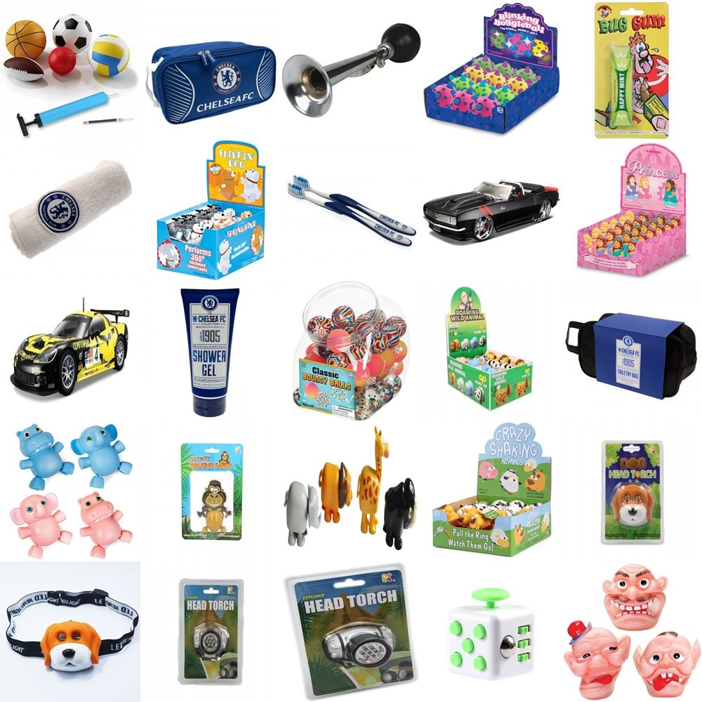 Gift Bag Toys : Party bag gifts toys loot pinata favors birthday large