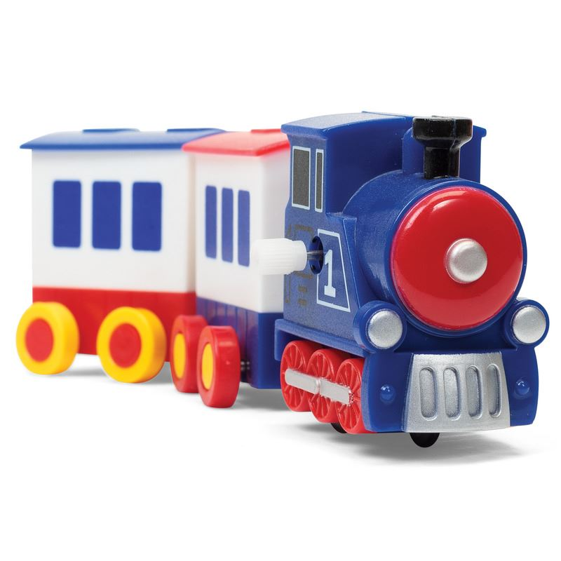 Train Choo Choo Kid Toys Bath Car Transportation Clockwork Whistle ...