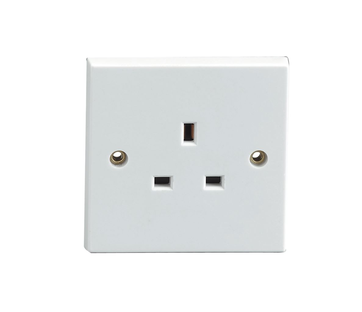 Wall Socket Plate Covers White Plug Electric Mains Wall Socket Blanking Plate Cover  Ebay