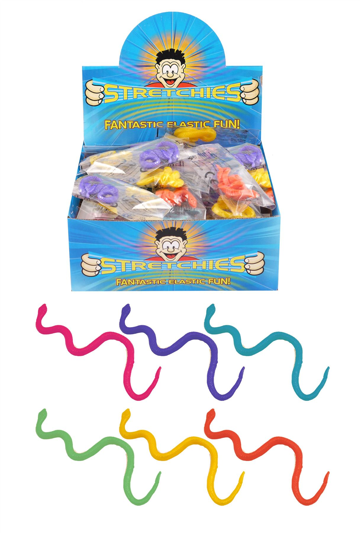 Choice of Fun Sensory Toys Stretch Fiddle Fid Autism ADHD