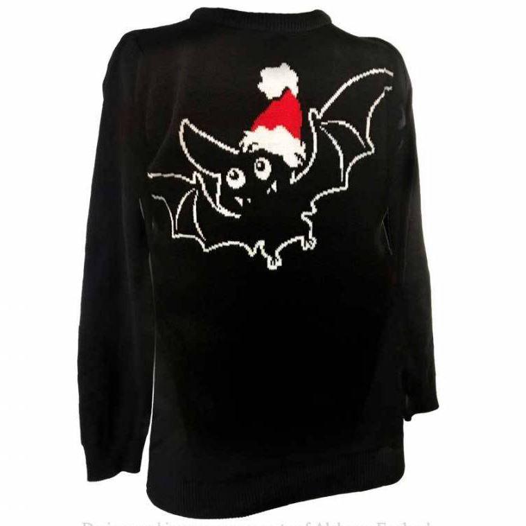 Alchemy-Gothic-Merry-Batmas-Santa-Bat-Spooky-Knitted-Christmas-Festive-Jumper