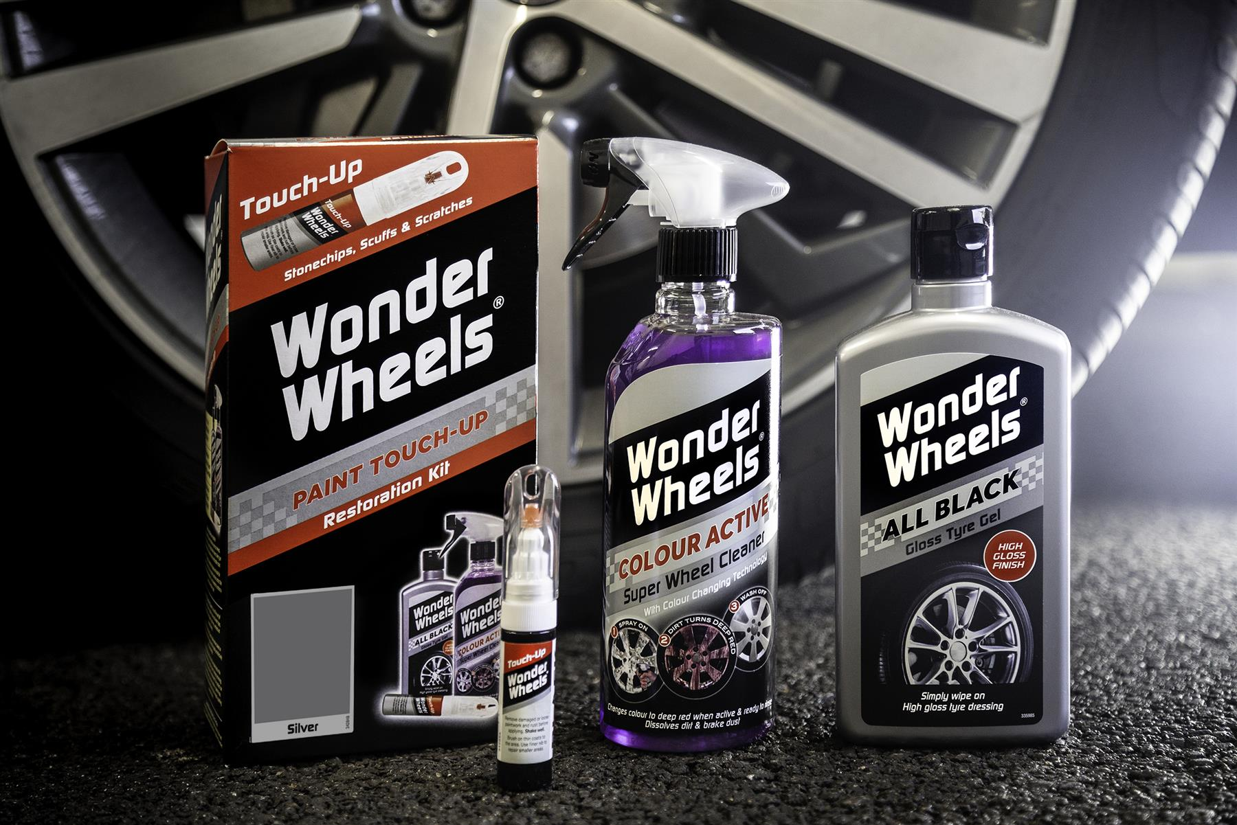 thumbnail 21 - Wonder-Wheels-Paint-Touch-Up-Restoration-Kit