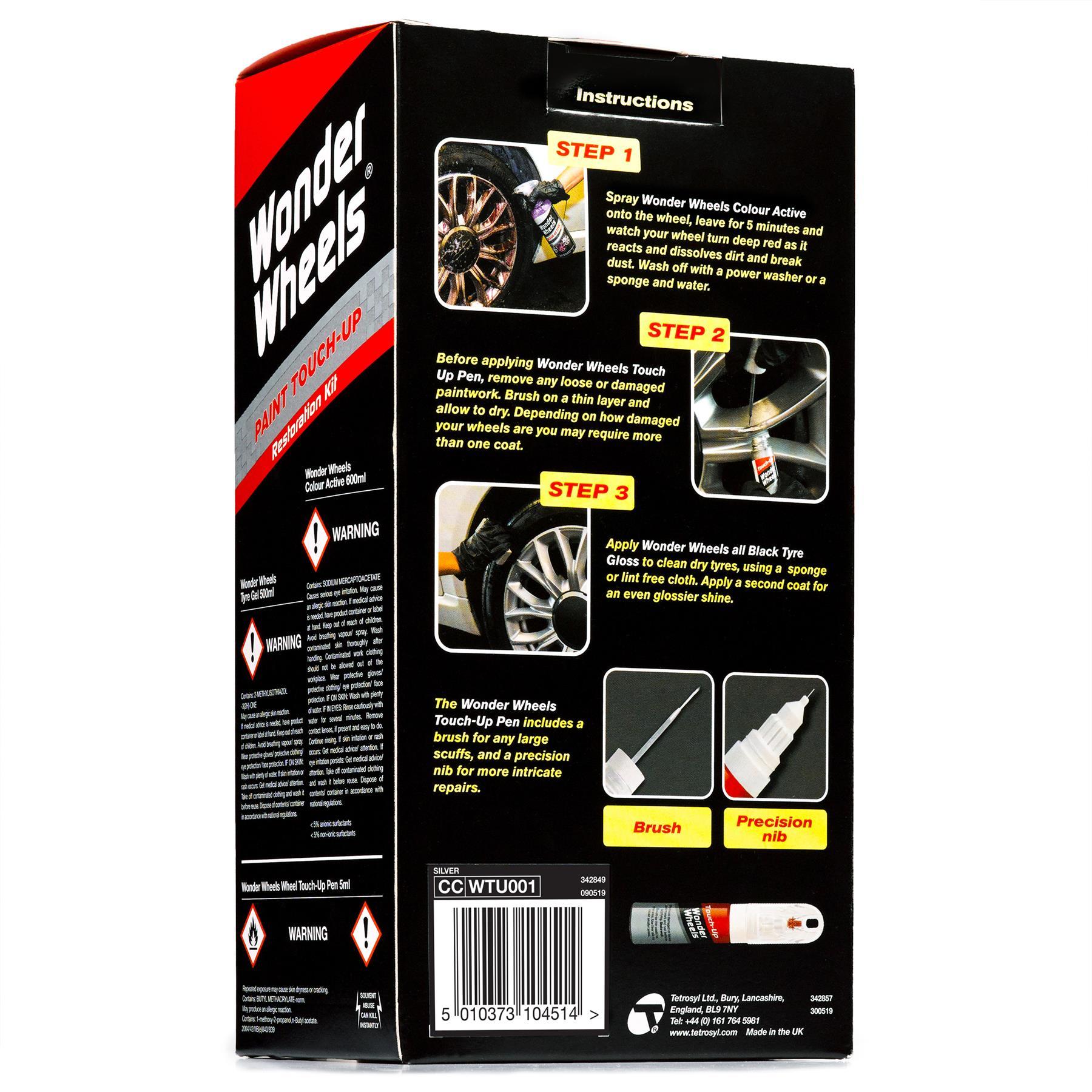 thumbnail 20 - Wonder-Wheels-Paint-Touch-Up-Restoration-Kit