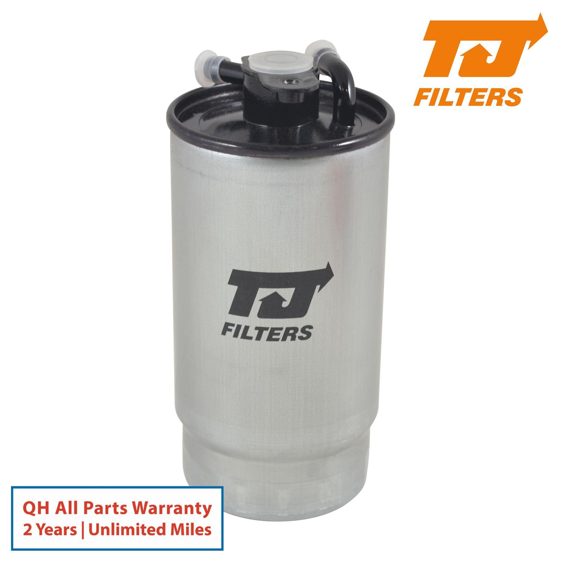 genuine tj fuel filter fits bmw x5 3.0 d 2001-04 2003-09 ...  ebay