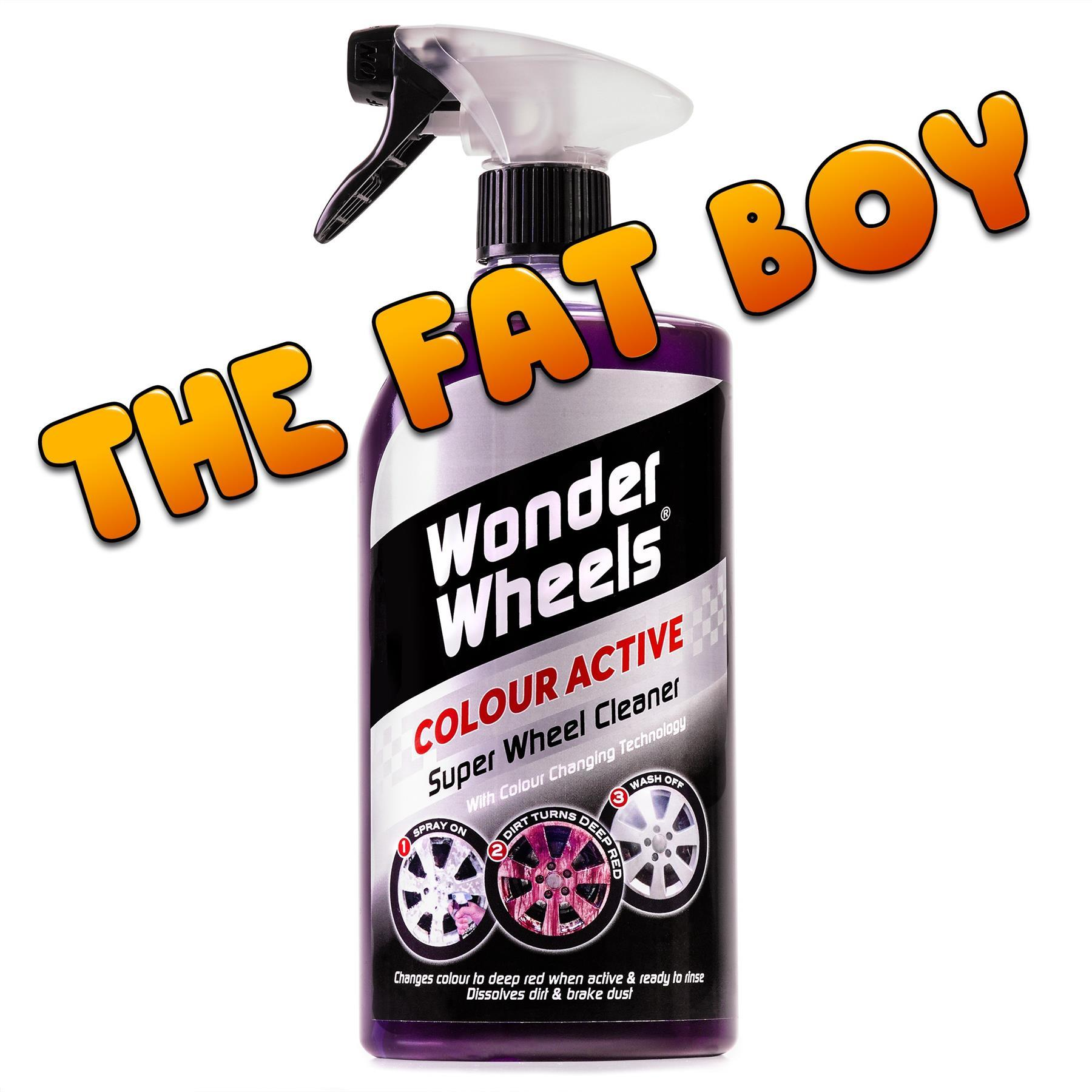 thumbnail 3 - Wonder-Wheels-Colour-Active-Super-Car-Wheel-Cleaner