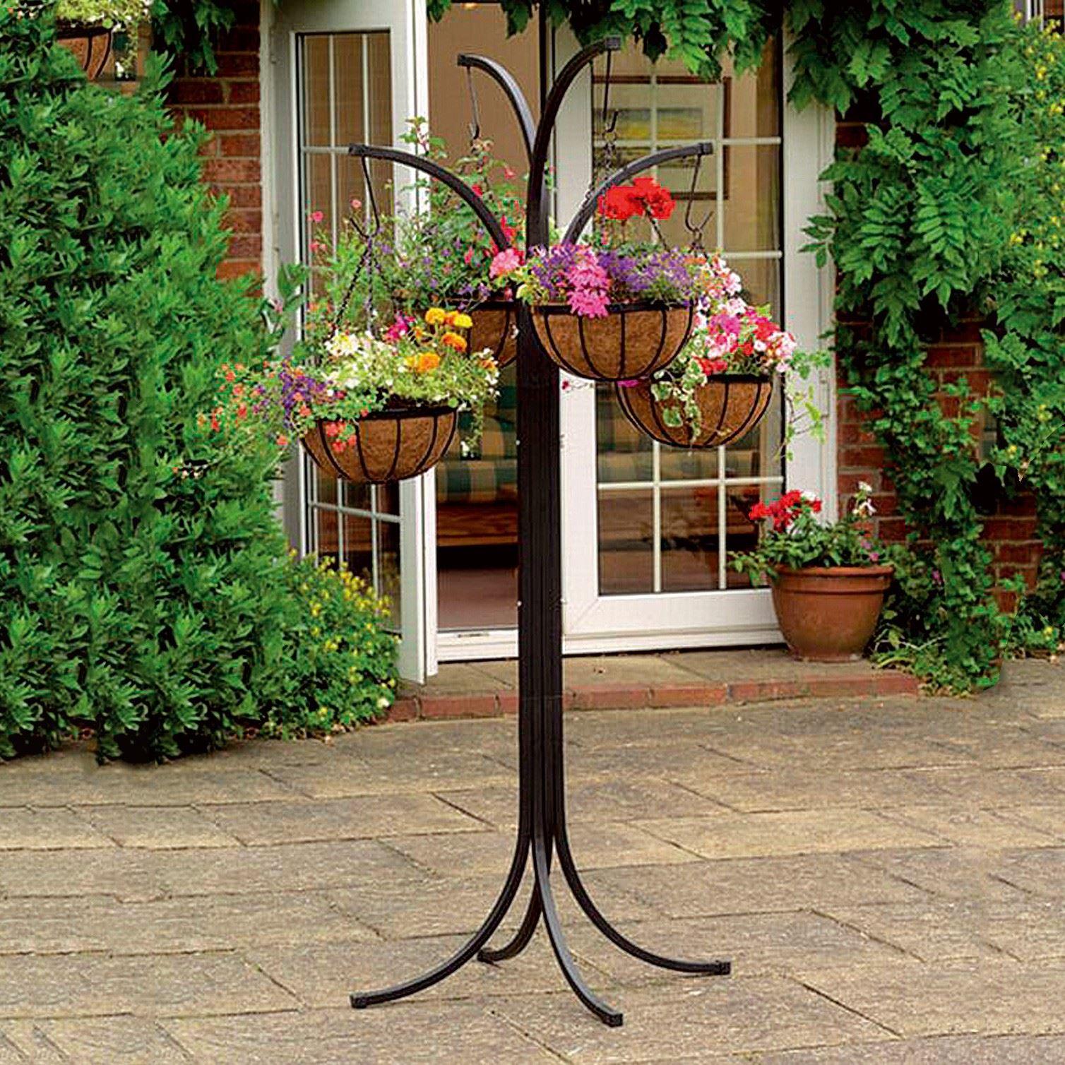 20+ New Solar Powered 8/8 Tier Outdoor Garden Stylish Flower Planter ... Bilder