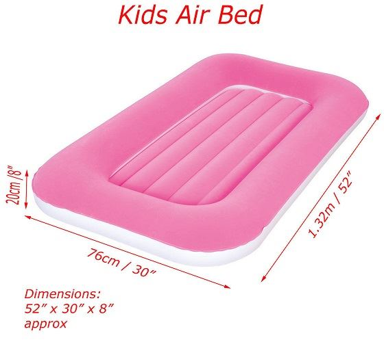 ultra plush telebrands built in pakistan air two intex with pump mattress bed inflatable layer