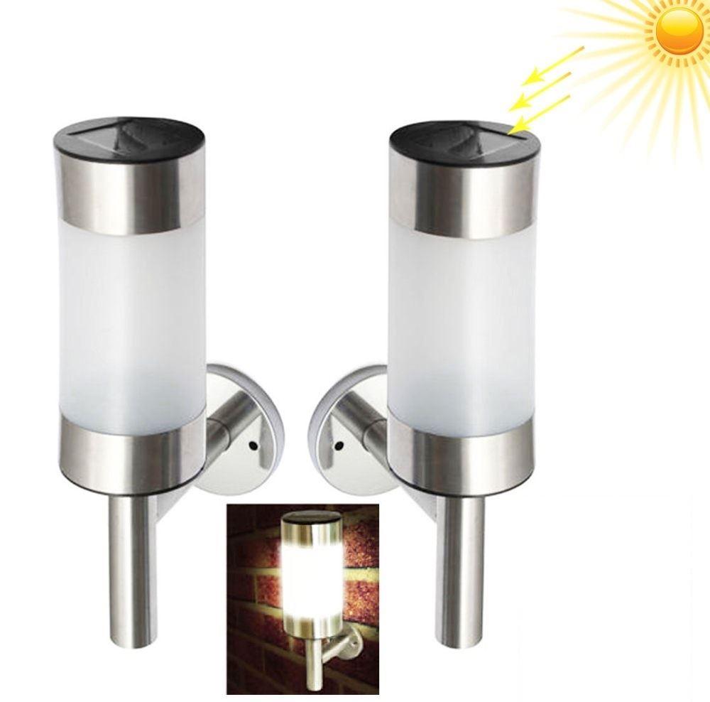 Outdoor Wall Light With Sensor: Solar LED PIR Sensor Motion Wall Lights Patio Yard Outdoor