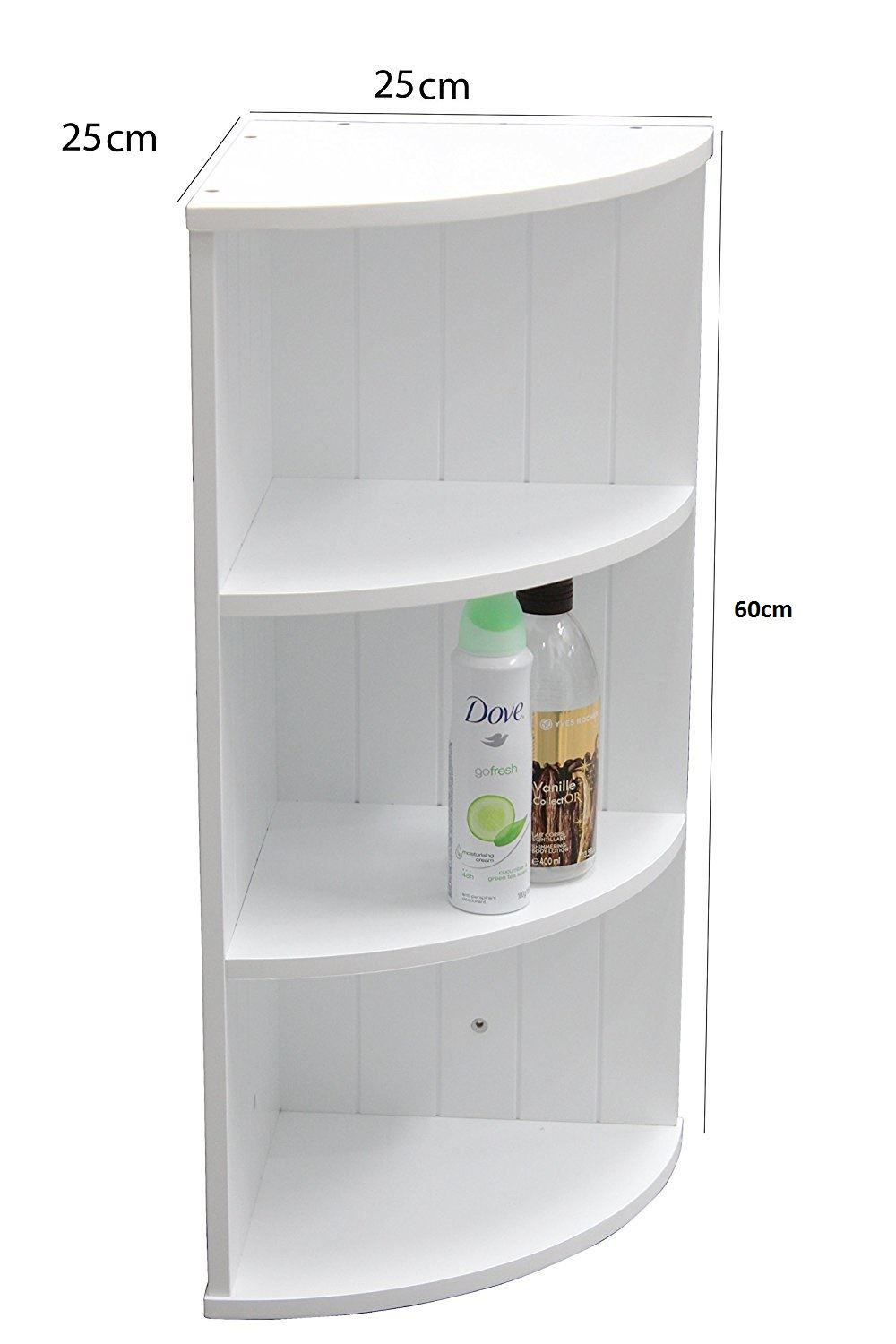 new white wooden bathroom cabinet shelf furniture cupboard 10665 | 62182d5b d742 4fce 9996 7b88a8c01682