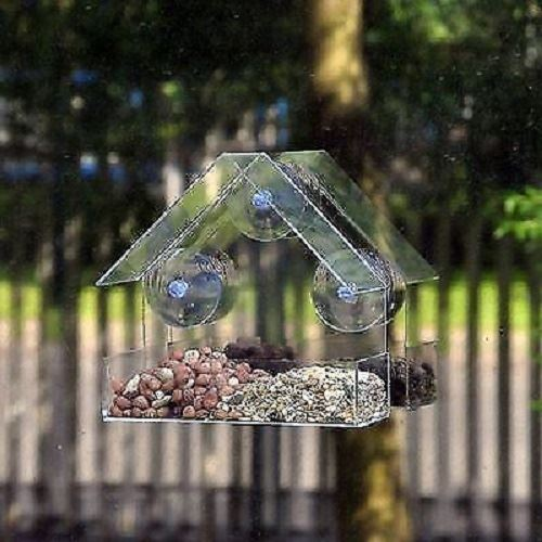 Garden Black Wild Bird Feeder Feeding Station Stabilizer Feet Spikes Stand New