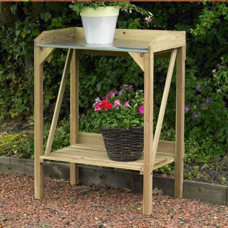 Decking Woodent 7625723569905 Woodent Organiser Garden Table