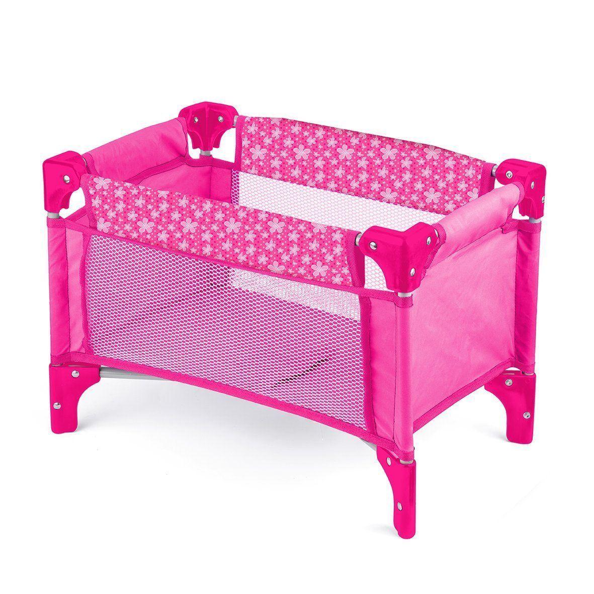 New-Deluxe-Dolls-Range-Pram-Buggy-Walker-Swing-Travel-Cot-High-Chair-Kid-Fun-Toy