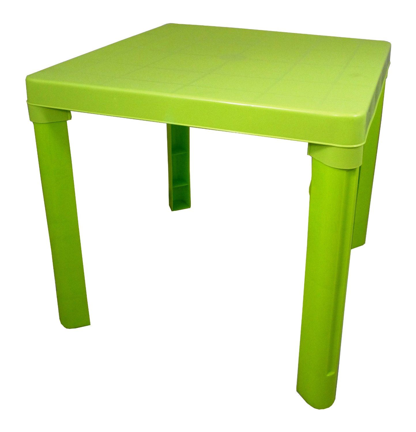New Plastic Childrens Table Amp Chairs Set Coloured Nursery