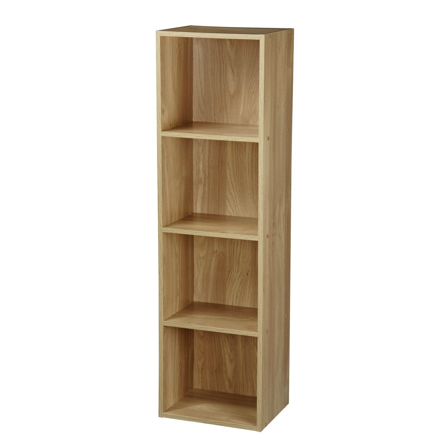 New Wooden Display Storage Units Furniture Shelve White Oak Black Beech Shelf Ebay