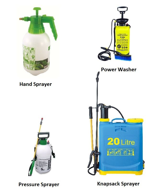 New 1.5l Pressure Sprayer Pest Control Weed Chemical Pesticide Water Bottle