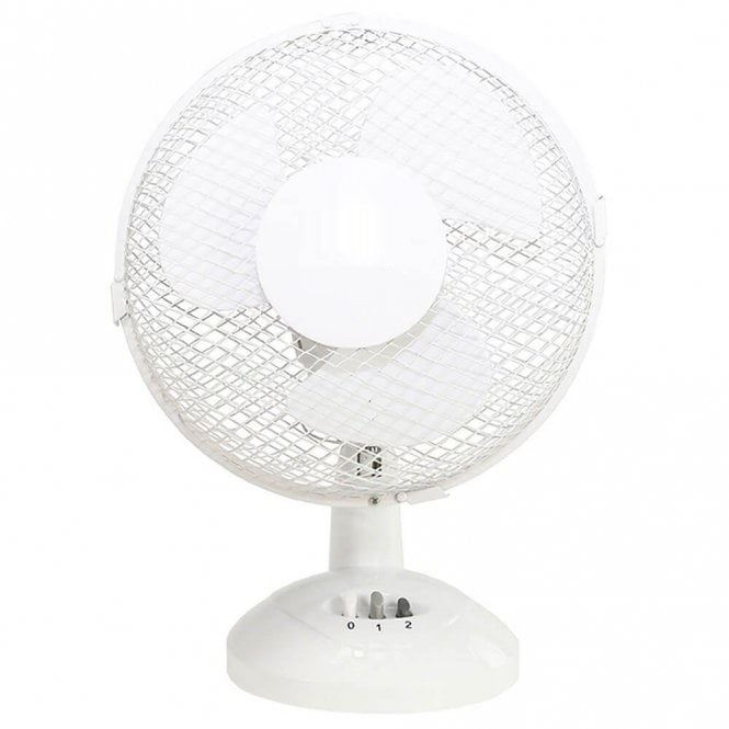 Cooling Fan Pedestal Oscillating Stand Desk Electric