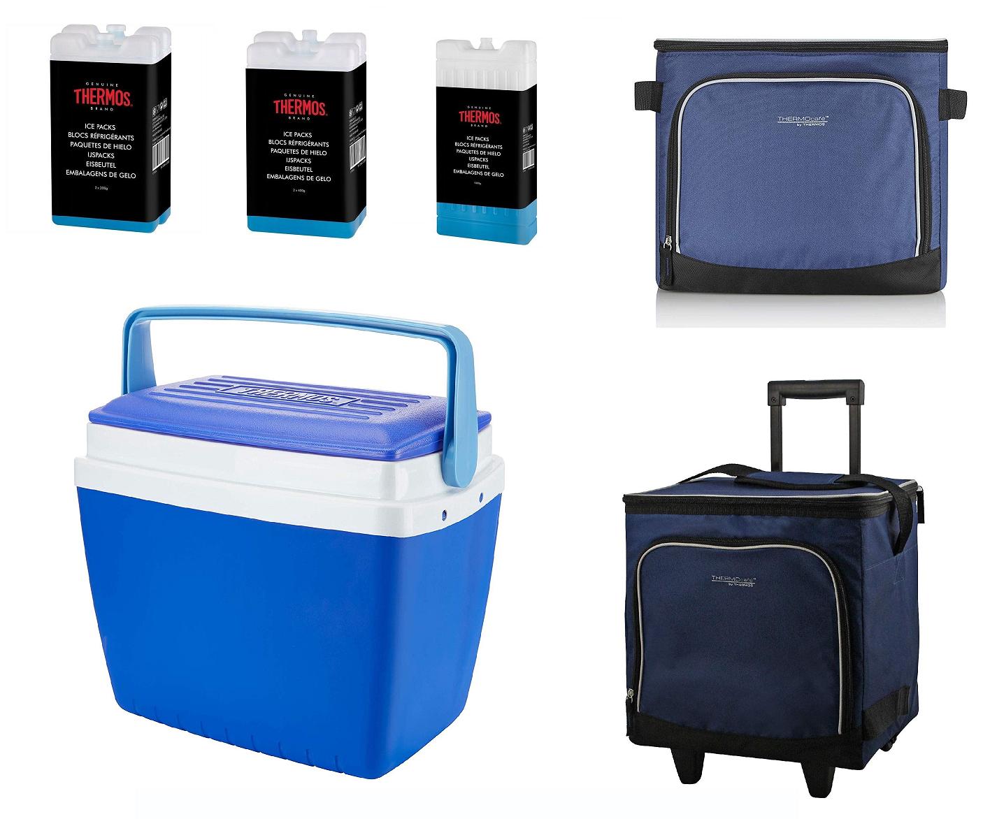10L Insulated Cooler Lunch Food Drinks Freezer Bag Beach Picnic Shoulder Strap