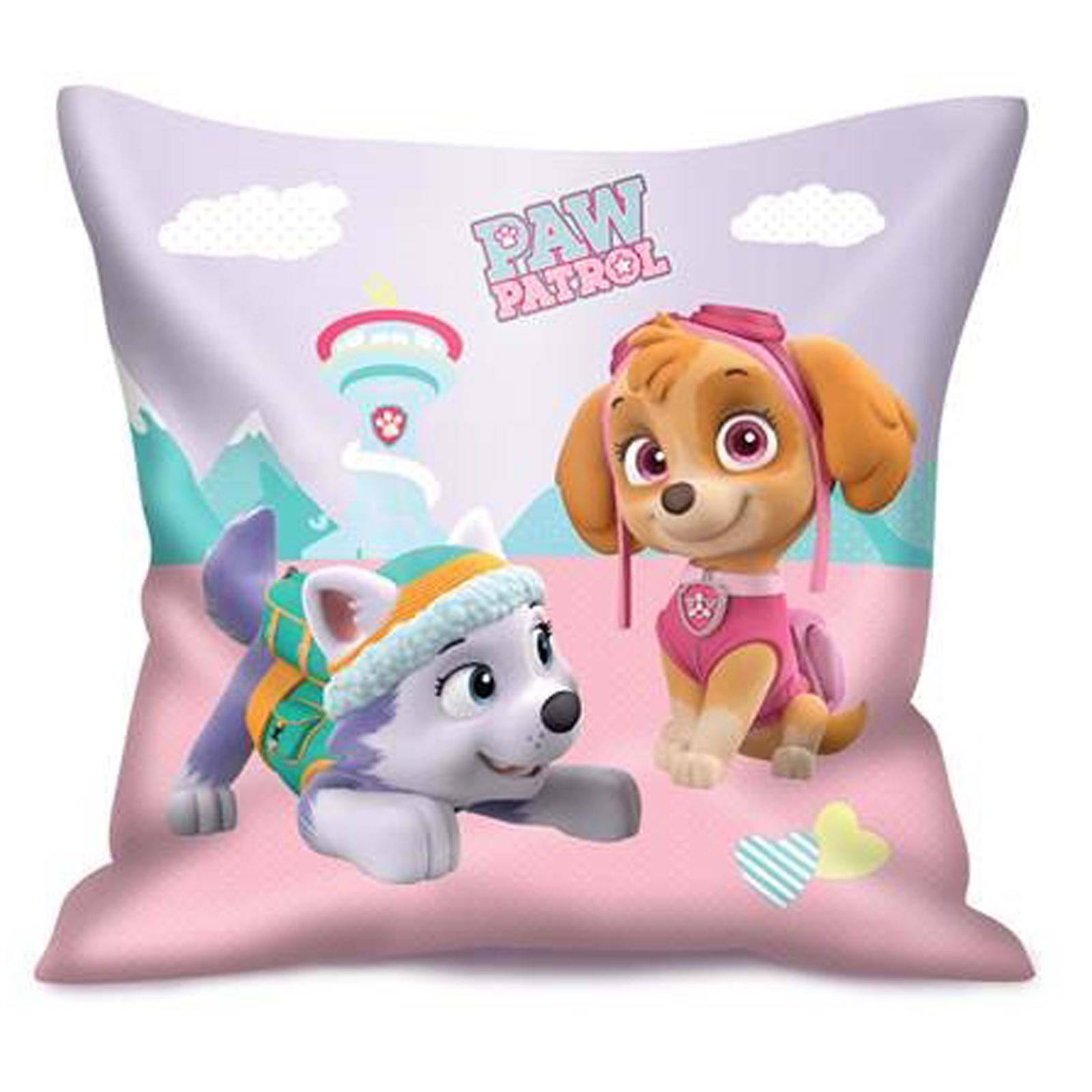 Home Decor Cushions PAW PATROL CHASE PRINT SHAPE PILLOW CUSHION SOFT BLUE KIDS BOYS CHILDRENS NEW .