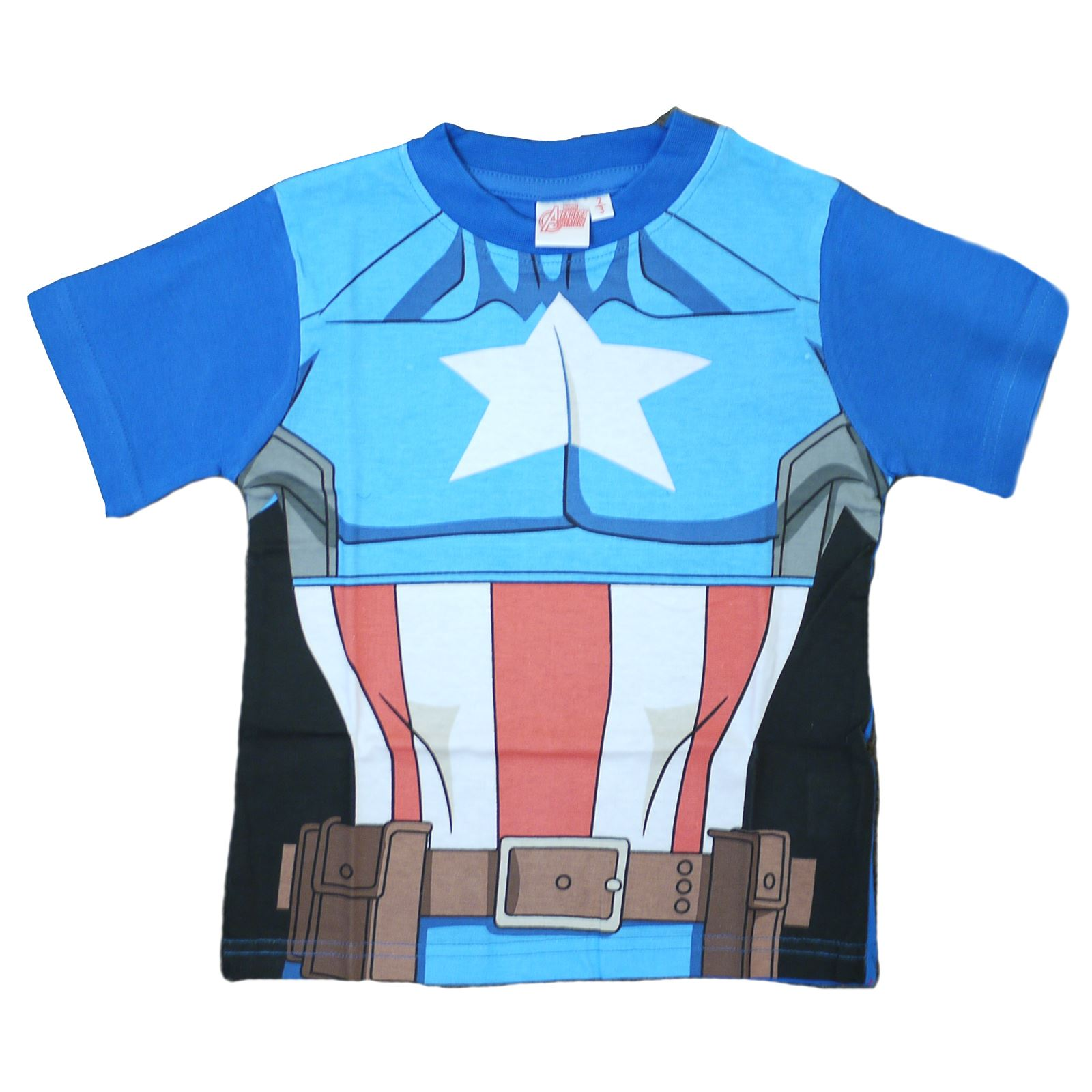 e534d2264de25 Official Boys Kids T-Shirt Avengers Ultron Hulk Iron Man Captain ...