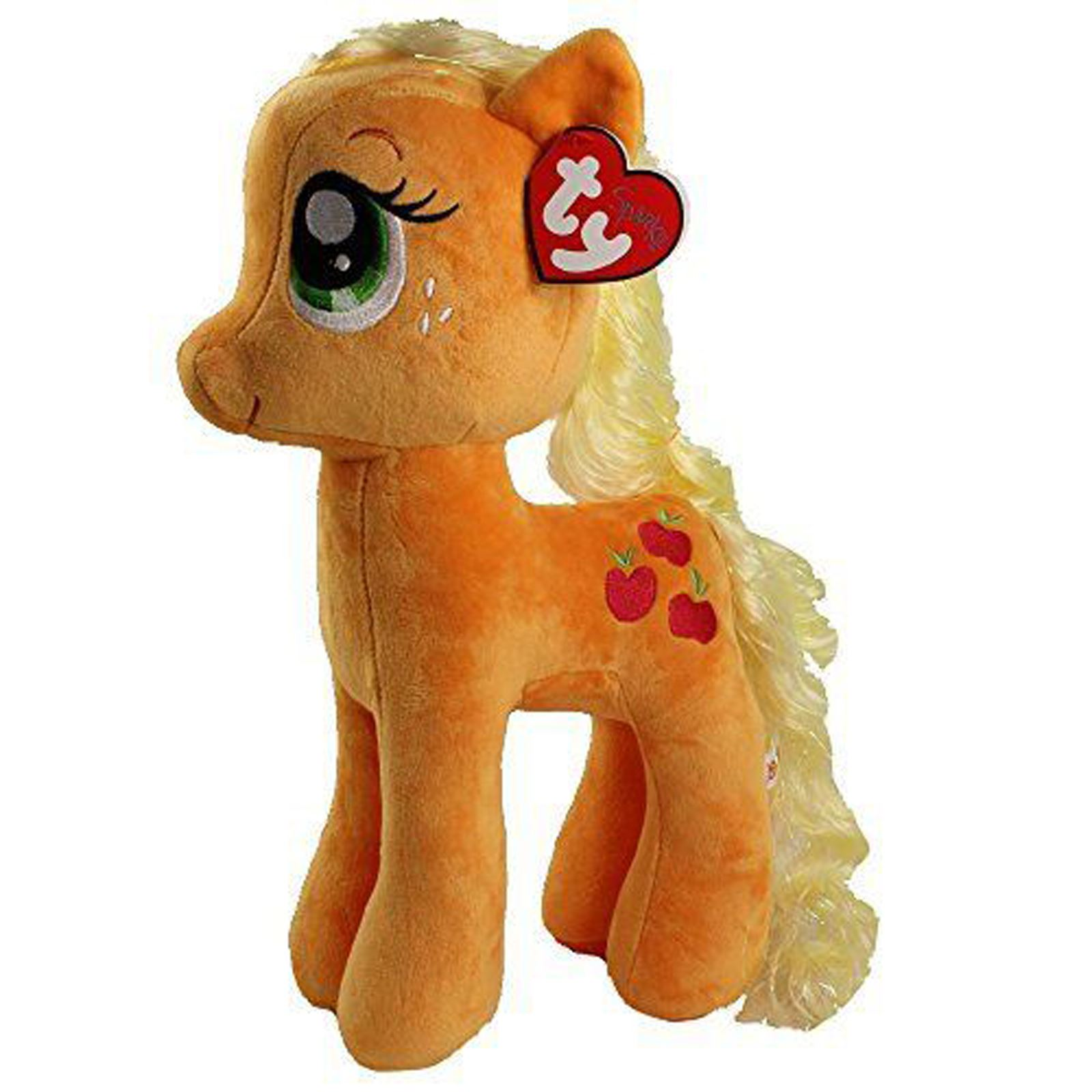 54d083223d0 My Little Pony Applejack - TY Beanie Babies - Large Soft Toy Plush 40cm 15