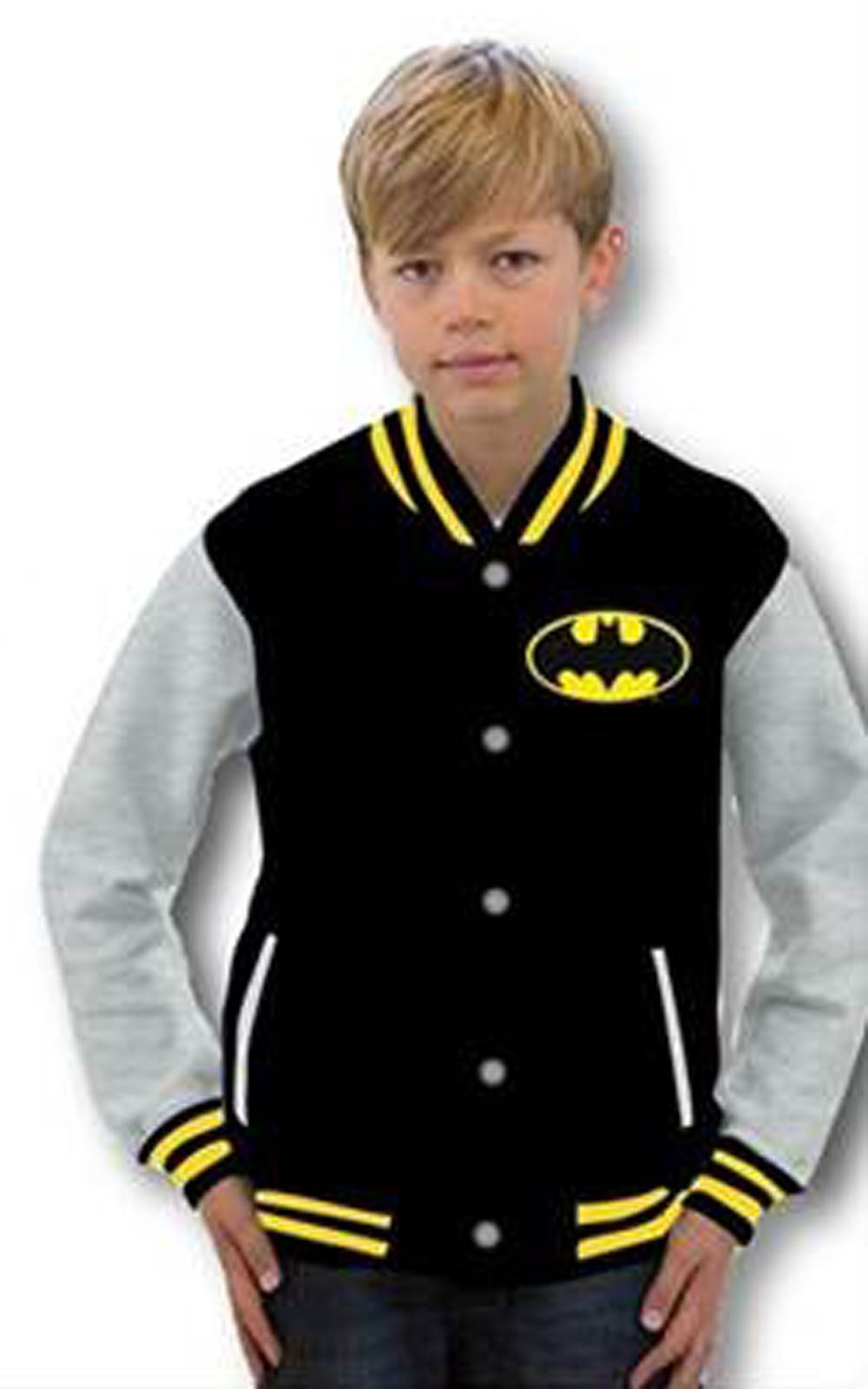 Officiel-enfants-garcons-batman-superman-baseball-veste-manteau-varsity-super-heros