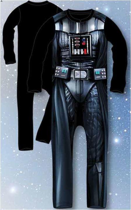 Star Wars Official Kids Sleepsuit Pyjama Costume Darth Vader StormTrooper