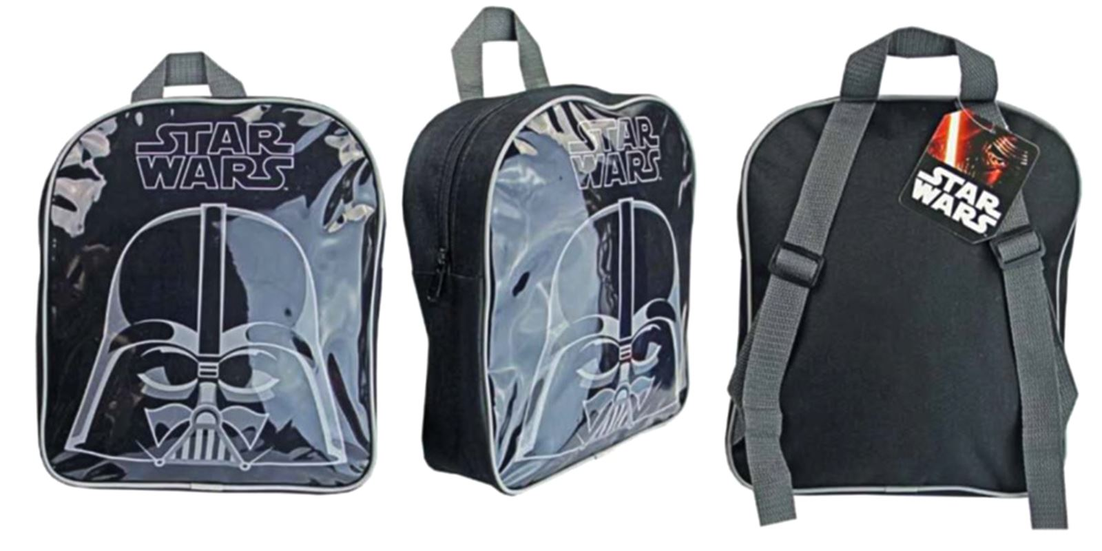 OFFICIAL KIDS DISNEY STAR WARS BACK PACK RUCKSACK BAG SCHOOL BAG