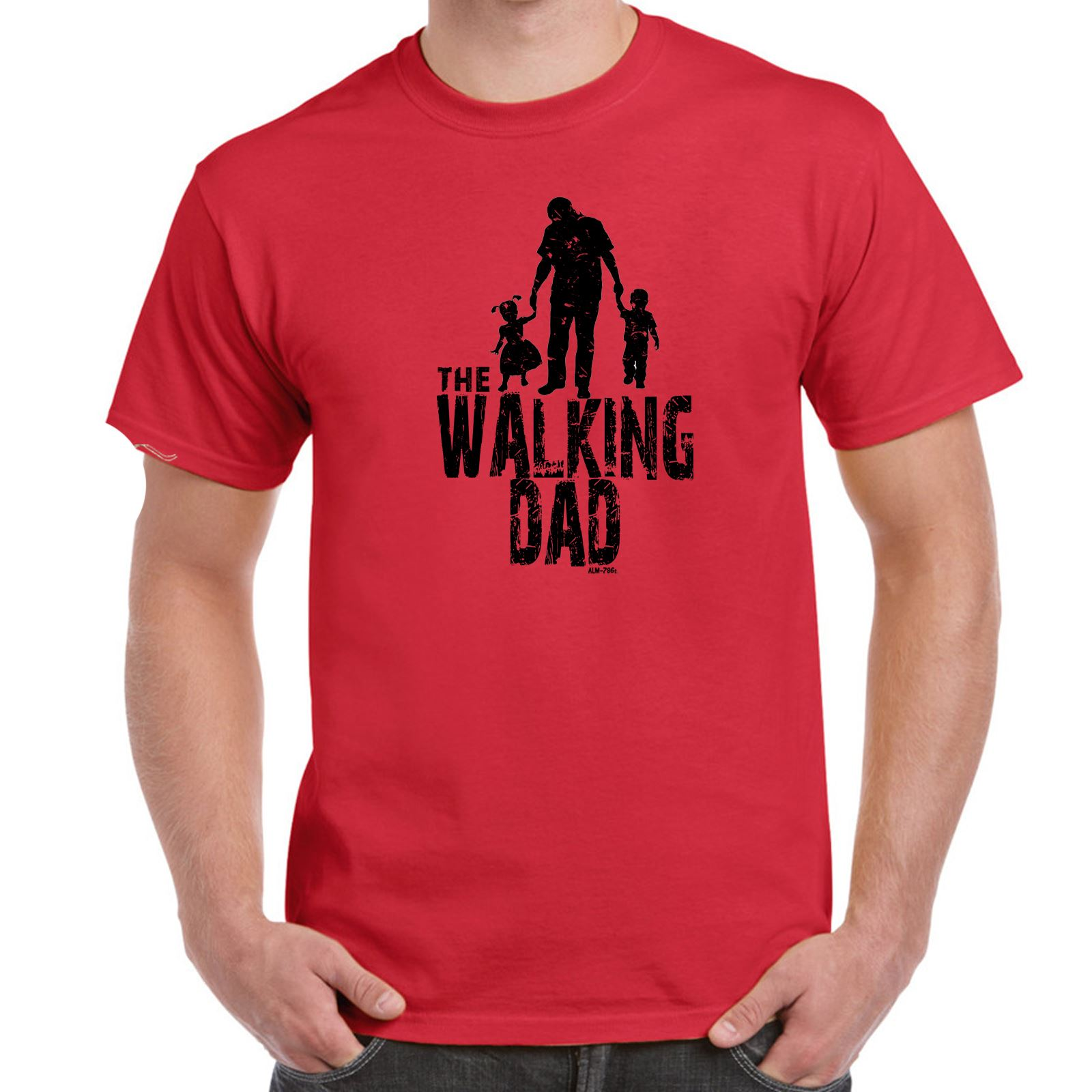 ALM786t Mens Funny Slogans T Shirts The Walking