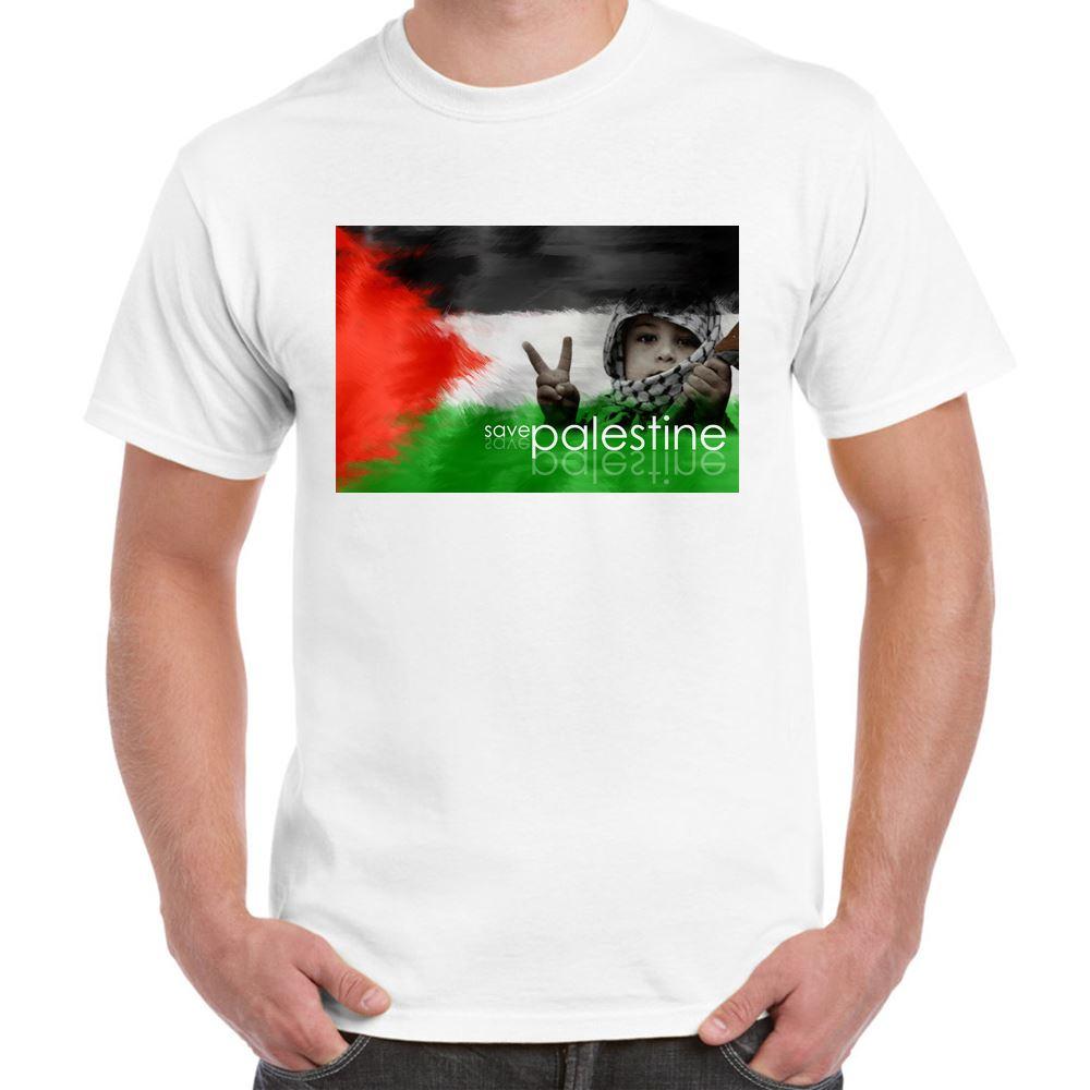 ALM786t-Mens-Novelty-T-shirts-Free-Palestine-Save-Palestine-Novelty-tshirts