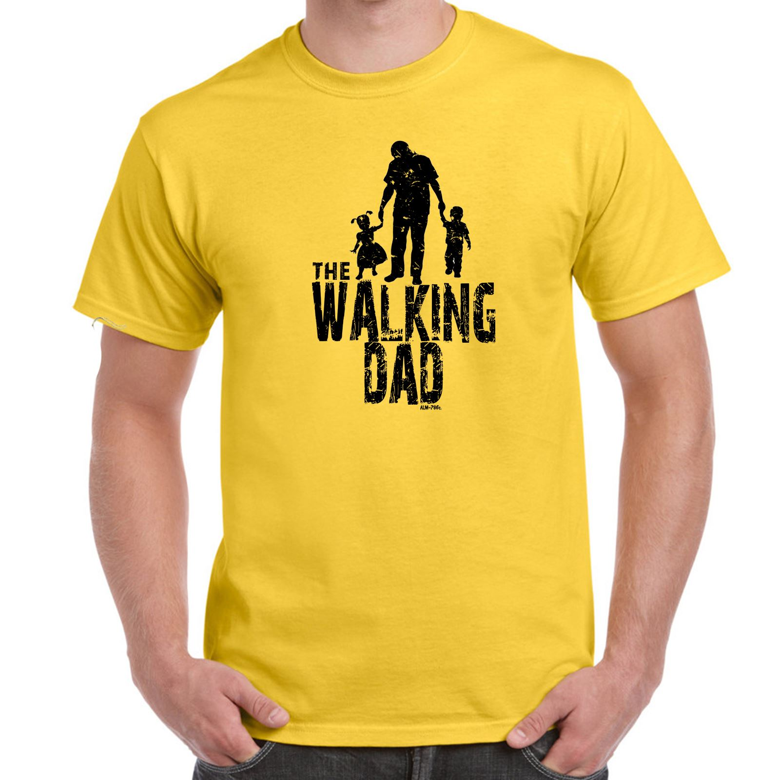 The Walking Dad Dead Inspired Mens Funny Sayings Slogans T