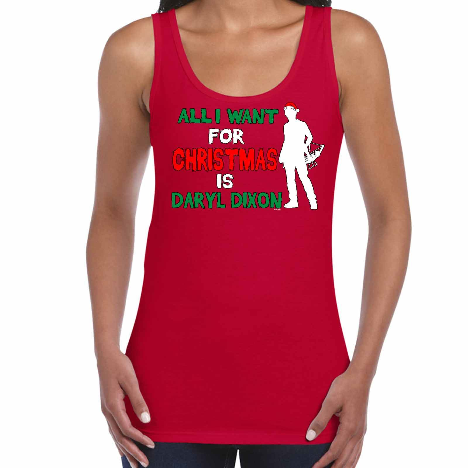 ALM786t-Womens-Tank-Tops-I-Want-Daryl-Dixon-For-Christmas-Walking-Dead-Inspired