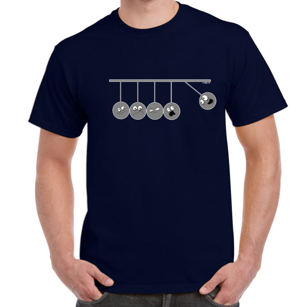 ALM786t Mens Funny Sayings Slogans T Shirts Pendulum