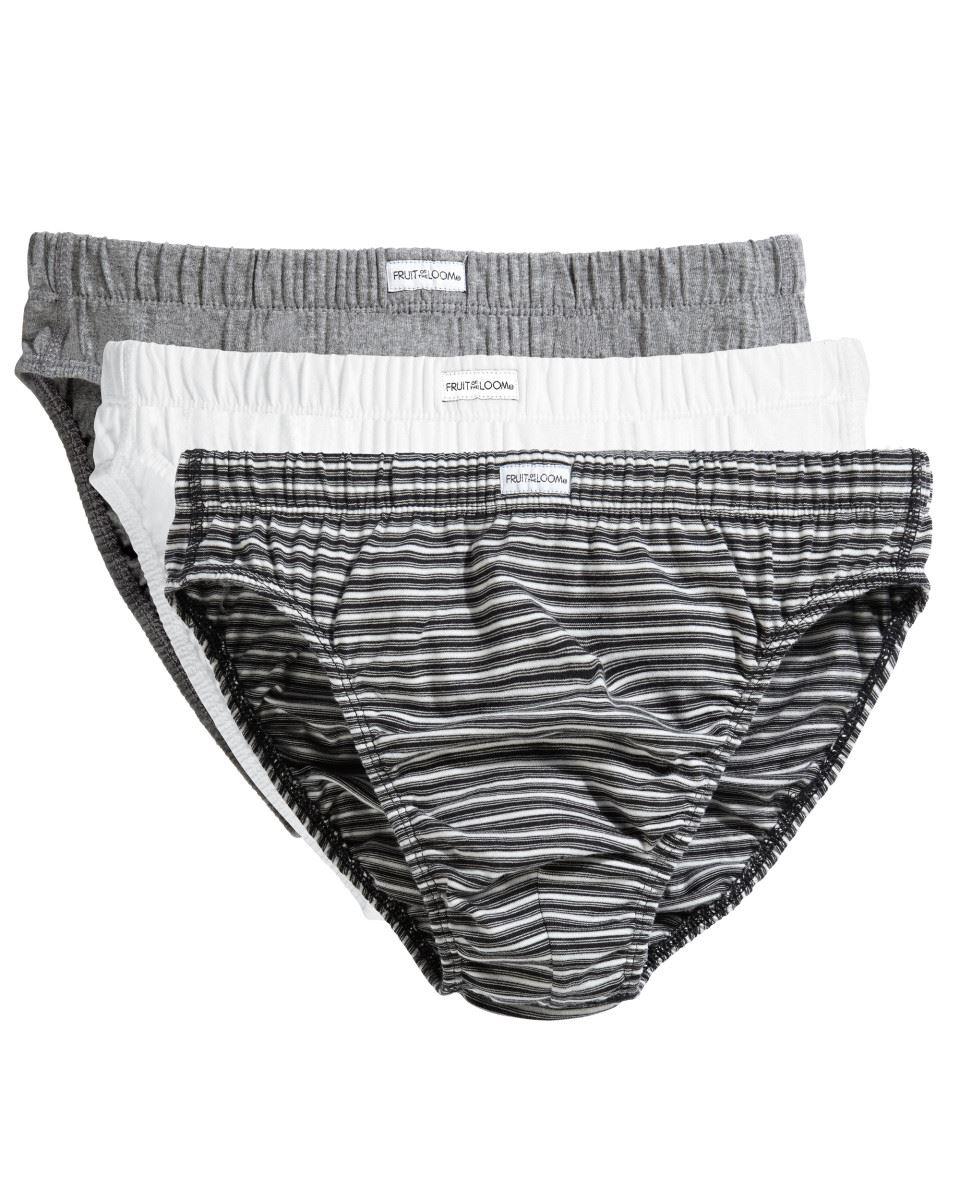 Fruit-Of-The-Loom-Underwear-Men-039-s-Classic-Slip-Briefs-underwear-3-Pack