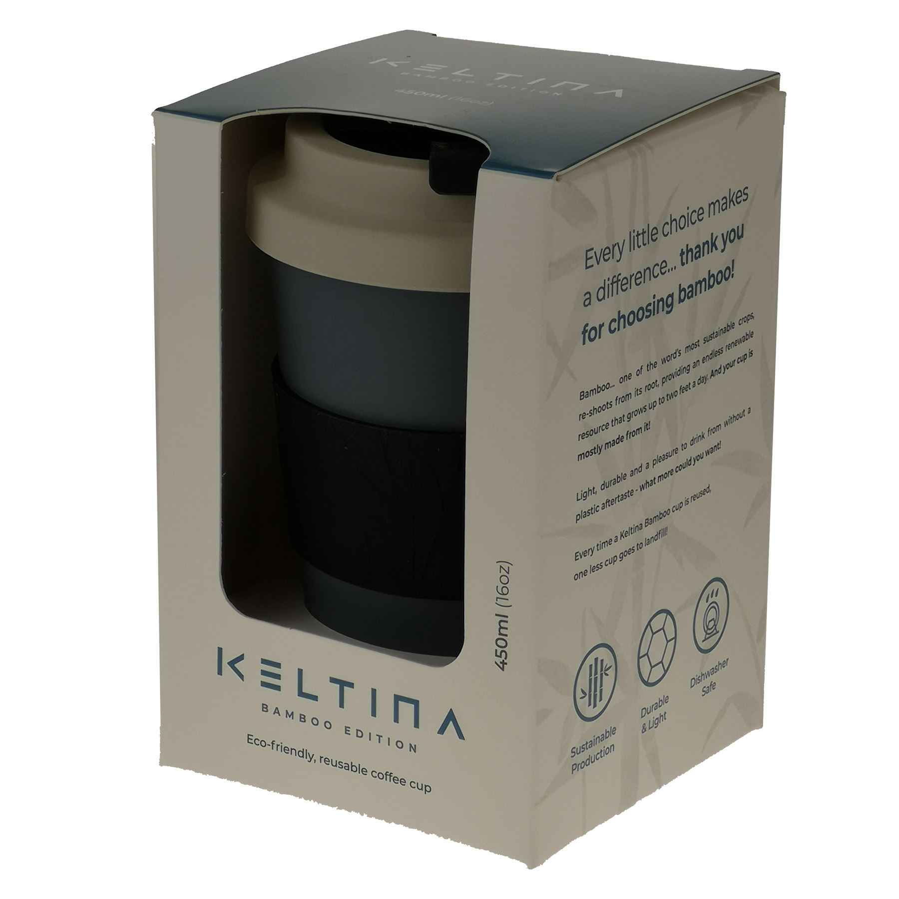 Keltina-Bamboo-Eco-Biodegradable-Coffee-Travel-Mug-To-Keep-Cup-Reusable thumbnail 7