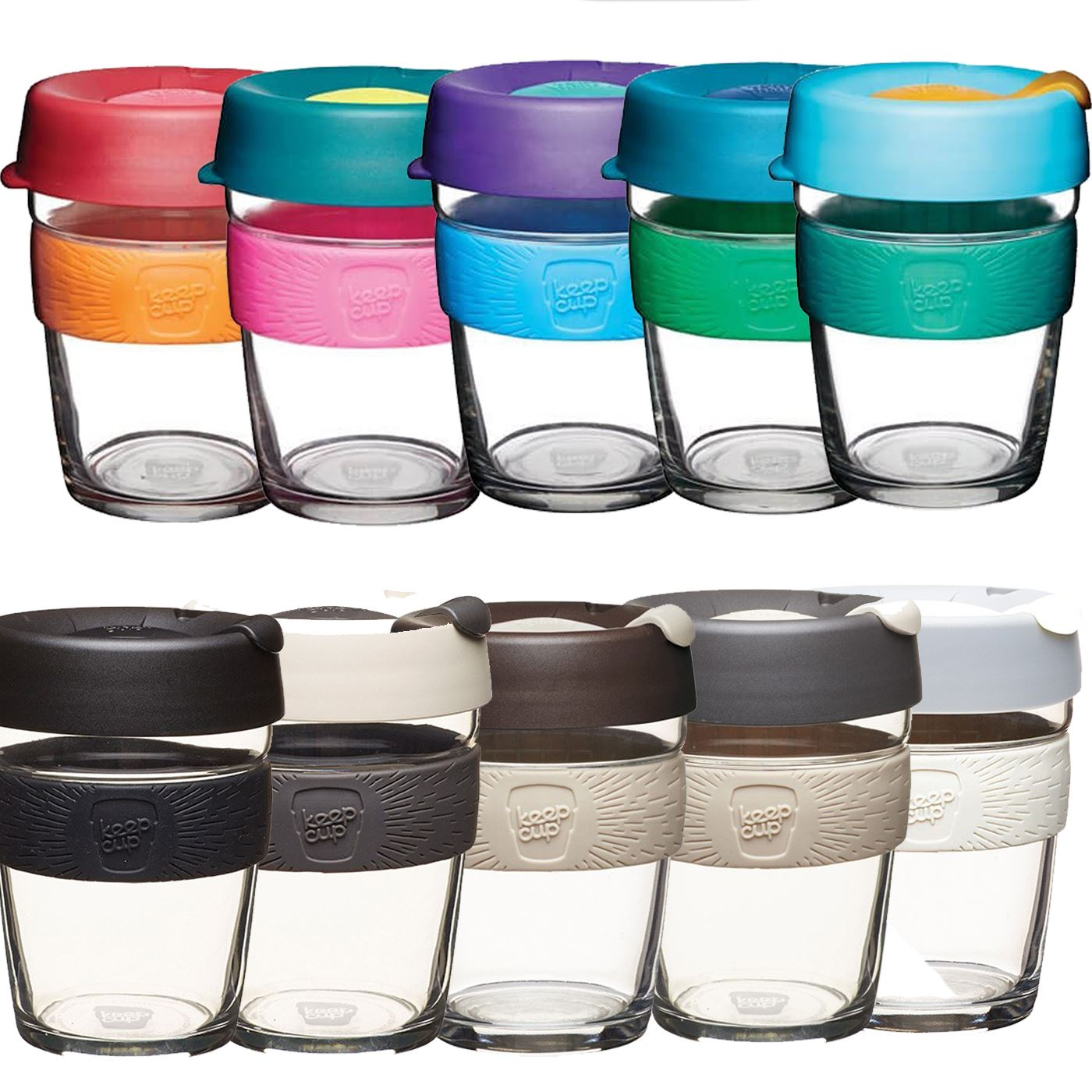b75642ae107c Details about KeepCup Changemakers Brew Glass Edition Keep Cups Reusable  Travel Car Mug Glass