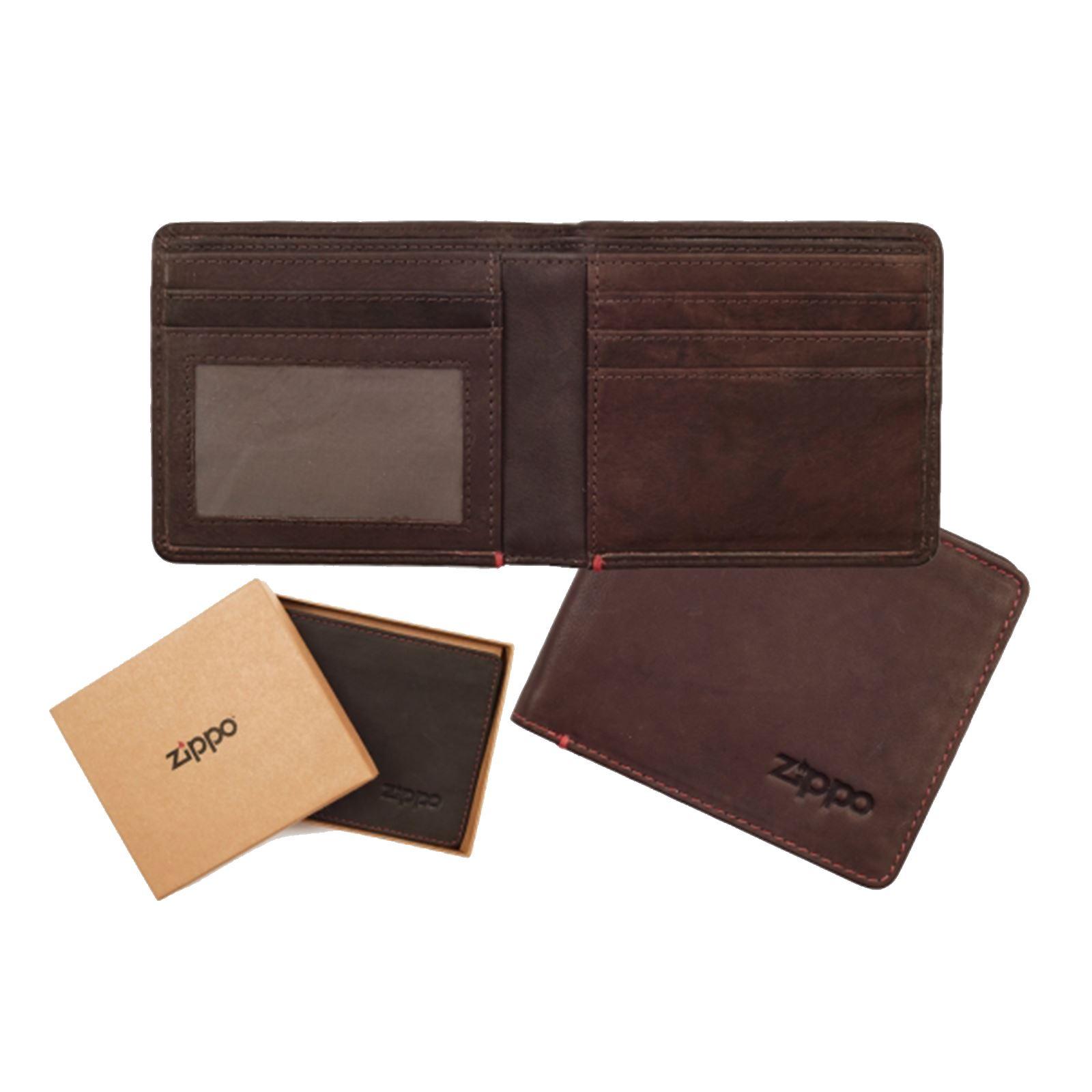 Gentlemens Hardware Leather Canvas Slim Bi-Fold Wallet