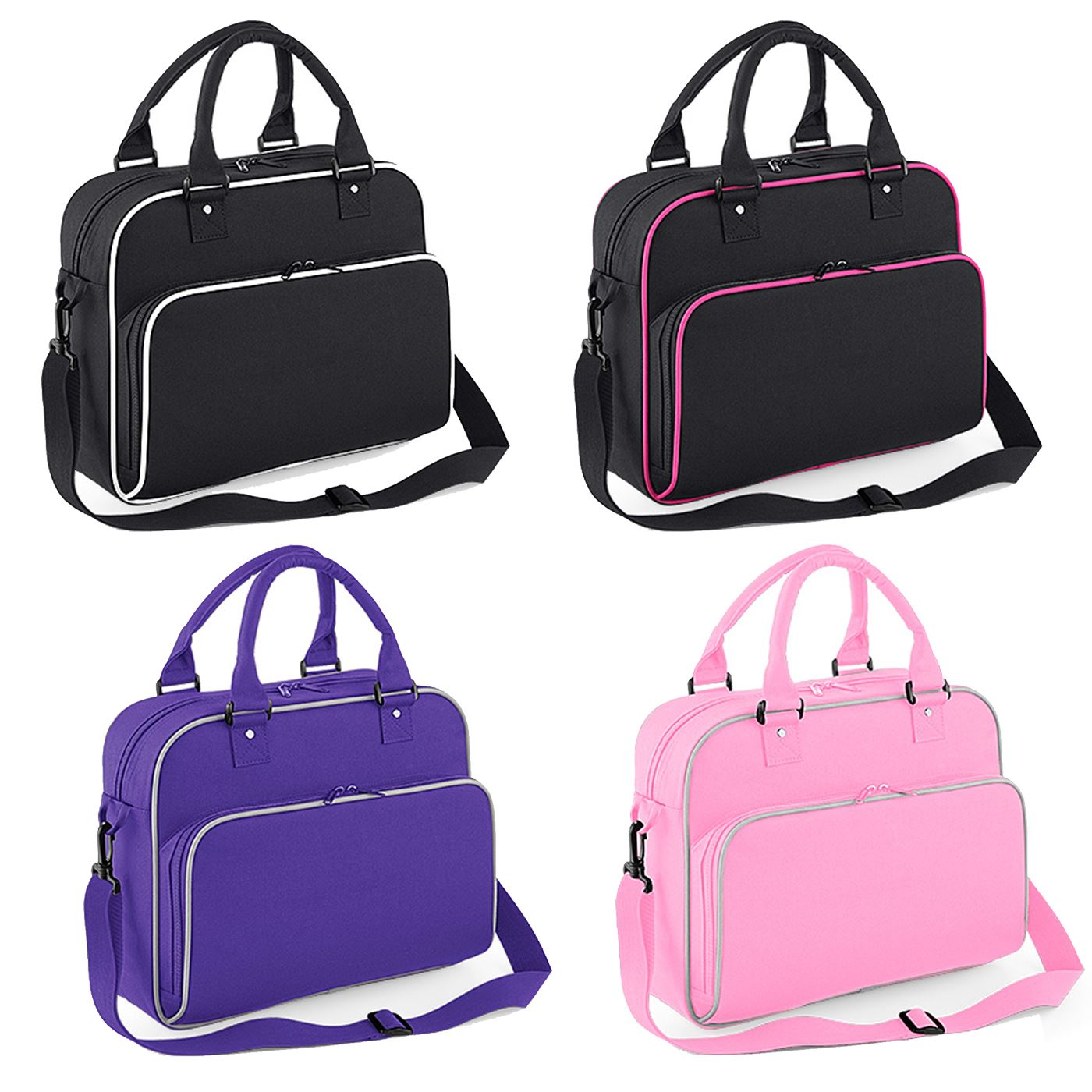9b68c3bc939 Details about BagBase Dance Bag Ballet Tap Kit Holdall Sports Bag Gymnastics