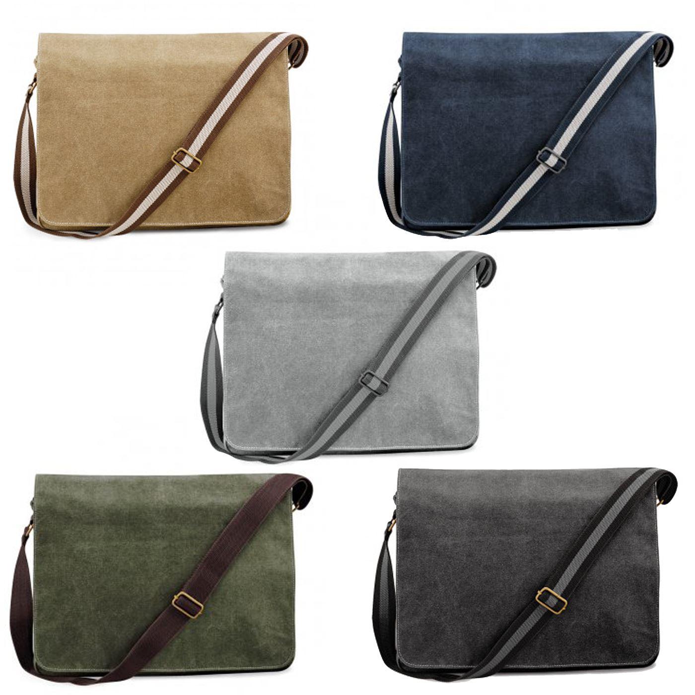 0eaa1a18f8 Details about Quadra Vintage Canvas Despatch Bag Shoulder Bag Cross Over  Laptop Messenger