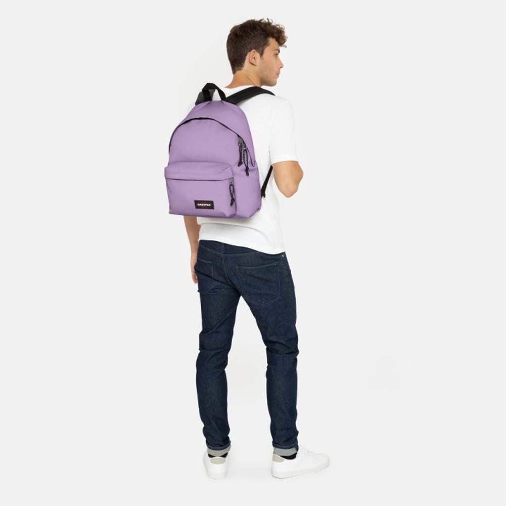 9b254357030 Eastpak Bags Padded Pakr Backpack Bag Flower Lilac 5400806663853 | eBay